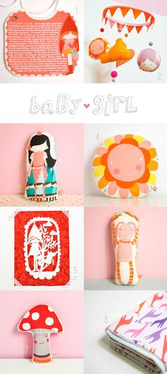 #christmas #gifts suggestions for #baby #girl  by Pinknounou