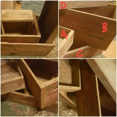 Wooden Boxes, vintage wood storage, Remington Ammunition Box by TheRecycledGreenRose on Etsy