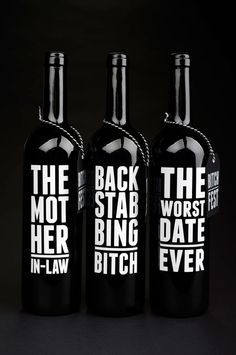 love these wine labels