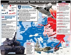 The UK is sending 800 troops to Estonia as part of a Nato reaction to Russian aggression in Eastern Europe, with both sides increasing their military capability in eastern Europe in the biggest military build-up since the Cold War