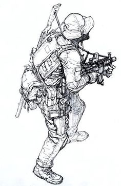 JungGi Kim LIVE (@kimjunggidirect) | Twitter Character Concept, Character Art, Concept Art, Character Design, Anime Military, Military Art, Military Soldier, Figure Drawing Reference, Art Reference Poses