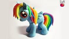 How to make fondant My little pony fondant - YouTube