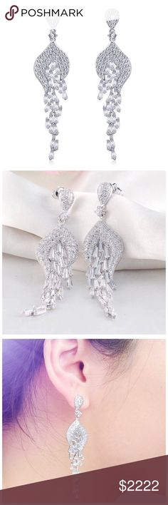 ‼️COMING SOON Swarovski Crystals Statement Earring ‼️ ‼️PLEASE LIKE THIS LISTING TO BE NOTIFIED WHEN THEY ARRIVE‼️‼️ Jewelry Earrings