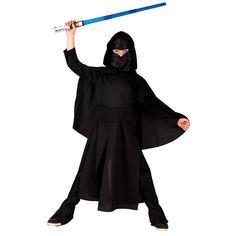 Αστρομαχητής αποκριάτικη στολή για αγόρια. Στολή για παιδιά ηλικίας έως δώδεκα ετών. Η στολή αποτελείται από την Κελεμπία, Παντελόνι με μπότες, Ζώνη, Κάπα με κουκούλα, Κουκούλα, όλα σε μαύρο χρώμα. Εμπλουτίστε τη στολή με τα αξεσουάρ που δεν περιλαμβάνονται όπως: το φωτόσπαθο Dresses, Fashion, Vestidos, Moda, Fashion Styles, The Dress, Fasion, Dress, Gowns