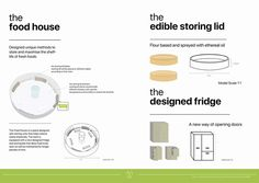A series of A0 posters for reducing the food waste challenge - A designed system to create a zero food waste community. #infographics #layout #green #futuristic #community #storinglid #fridge #foodhouse #project #society #graphics #vector #design #layout #australia #cartoon #illustration #analysis #emchengillustration
