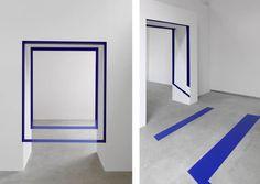 Felice Varini Square Passage