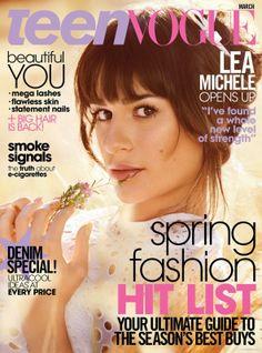 Lea Michele | Teen Vouge