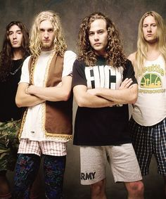 Alice in Chains...love their outfits!