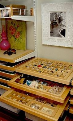 Have Easy Access with Pull Out Trays