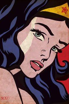 Art And Illustration, Comic Kunst, Comic Art, Comic Books, Comic Poster, Bd Pop Art, Pop Art Girl, Pop Art Face, Pop Art Lichtenstein