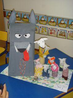 .LE LOUP ET LES 7 CHEVREAUX Wolf, Kids Rugs, History, Images, Baby Goats, Preschool, Fairytale, Short Stories, Animales