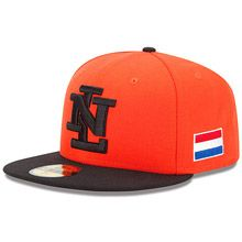 Netherlands 2013 World Baseball Classic Authentic Game Fitted Cap