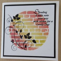 So pretty, creative, and I love the composition! Clarity Stamps and Stencils ~ Thank you, Shelly G!