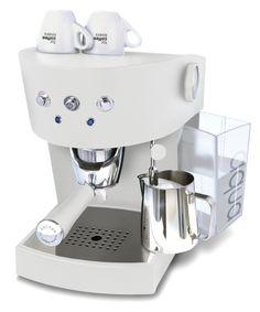 Ascaso Basic White Espresso Machine @ www.de-brewerz.com/product-tag/ascaso/