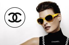 a5bfb956e10 Chanel 2012 eyewear ad campaign with Linda Evangelista Sunglasses Outlet