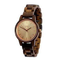 Rose Gold & Walnut Wood Watch by Skov. Skov Provides Wooden Watches That Are Authentic, Unique and Lasting. Wooden Watch, Walnut Wood, Rose Gold, Watches, Unique, Beautiful, Design, Wooden Clock, Wristwatches