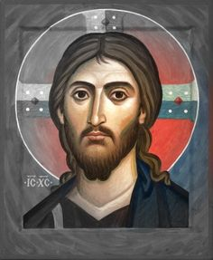 "gaze-on-jesus: """"God restores everything. When I submit the broken pieces of my life to Him, He restores me to a beauty far more than what I prayed for. Byzantine Icons, Byzantine Art, Religious Icons, Religious Art, Images Of Christ, Christian Artwork, Jesus Face, Prayer Images, Jesus Is Lord"