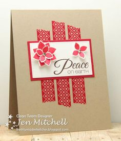 Peace on Earth by jenmitchell - Cards and Paper Crafts at Splitcoaststampers