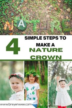 Get outside and play with your kids or your students. Go on a nature hunt and find natural items to use to make a nature crown. This is such a fun nature-based outdoor activity for kids! #outdoored #outdooreducation Outdoor Fun For Kids, Outdoor Activities For Kids, Nature Activities, Educational Activities, Outdoor Play, Easy Arts And Crafts, Kids Crafts, Teaching French Immersion, Nature Hunt