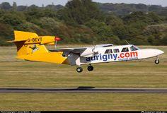 G-BEVT Aurigny Air Services Britten-Norman BN-2A Mk3-2 Trislander