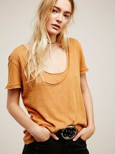 Phoebe Tee | In an effortless wear-with-anything silhouette, this oversized tee…