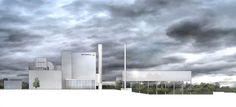 Gas and Steam Power Plant Winning Proposal / Henn