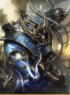 Warhammer 40000,warhammer40000, warhammer40k, warhammer 40k, ваха, сорокотысячник,фэндомы,Chaos (Wh 40000),Hellbrute,Chaos Space Marine,Thousand Sons,CSM Terminators,Chaos Sorcerer,defiler,Forgefiend