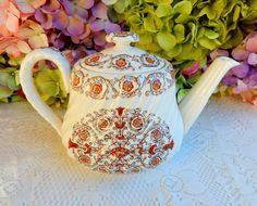 Beautiful Vintage Copeland Spode Teapot ~ Sorrento ~ Floral ~ Scrolls #CopelandSpode