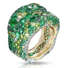 Emotion Verte Ring |Les Fabuleuses Collection |FABERGÉ.com
