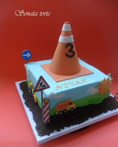 Sonata Torte Boy Cakes, Cakes For Boys, Boy Birthday, Birthday Ideas, Birthday Cake, Construction Cakes, Torte Cake, Cake Cookies, Transportation
