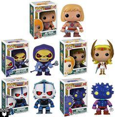 Masters of the Universe Pop! Television Series 1 by Funko - He-Man, Skeletor, She-Ra, Hordak & Spikor Vinyl Figures