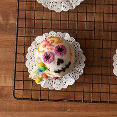 Day of the Dead Confetti Cupcakes Recipe by H-E-B