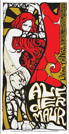 auf der maur band posters | Malleus – Rock Art Lab | Paint It Black