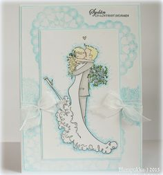 Stamping Bella, wedding card