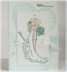 Stamping Bella, wedding card Bella Wedding, Wedding Crafts, Stamping, Cards, Handmade, Free, Inspiration, Biblical Inspiration, Hand Made
