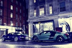 It's an Audi Standoff    Alex Penfold Photography