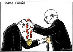 Esta es la #MarcaEspaña y mientras no la cambiemos no viviremos ni a gusto ni en paz