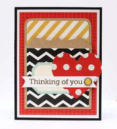 Thinking of You {Simple Stories} - Scrapbook.com