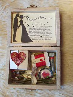A hétvégén ismét esküvőbe vagyok hivatalos: férjhez megy a keresztlányom. Nem is én lennék, ha csak egyszerűen egy borítékba tenném azt a k...