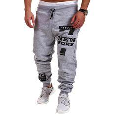 2015 Spring & Autumn Outdoors Cargo Loose Trousers Men Sweat Leisure Joggers Pants Slim Fit Sweatpants for Dance Leisure Pants