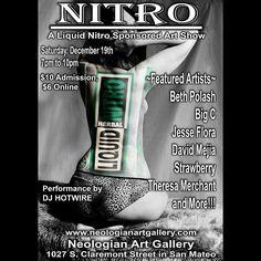 Neologian Art Gallery's next event!  #neologianartgallery #sanmateo2015 #awesomeness #artscence #artshows #artshow #art
