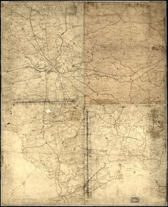 Map of Richmond- The Confederate States of America -1864- Beautiful Print=(Antique,Vintage,Old) =Map is Perfect for Framing! by GalleryLF on Etsy https://www.etsy.com/listing/218101827/map-of-richmond-the-confederate-states
