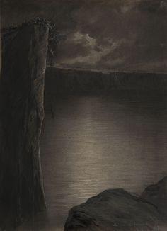 Le lac de la mort | Museu Nacional d'Art de Catalunya Painting, National Museum, Frases, Abstract, Paintings, Death, Painting Art, Painted Canvas, Drawings
