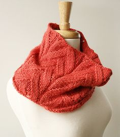 winter fashion - knit cowl (baby alpaca & silk) - TickledPinkKnits on Etsy