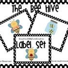 These cute little bees will help you organize your classroom supplies while decorating your room! You can also print these off and use them to teac...