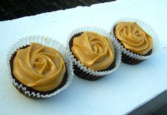 Chocolate banana peanut butter cupcakes - this will be the first thing I make when I'm back in the kitchen.