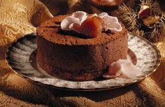 Receita de Charlotte de Castanhas com Chocolate   Doces Regionais