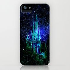 Dream castle. Fantasy Disney iPhone  iPod Case by Guido Montañés - $35.00