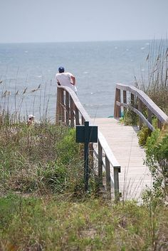 Many treasured afternoons spent crossing that gangway at Kiawah