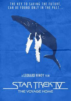 Star Trek IV - Minimalist Poster